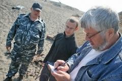 1.Обследование рек Малая и Большая Хузи, август 2009