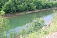 7.Отсутствие рыбы в среднем течении р. Макаровка, 28.07.2009 г.