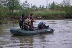 10.Улов симы, сети и лодка Vector с мотором изъяты