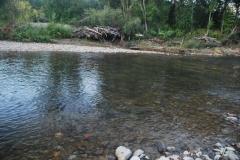 12.Нижнее течение реки Таранай ниже плотины ЛРЗ