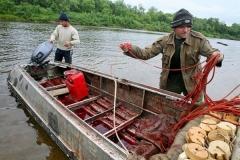 2.Задержанные с лодкой и бреднем