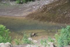 6.Заполненная яма в реке Горная, 5,5 км от устья