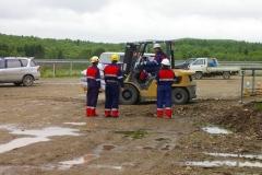 Бесхозный склад токсичных веществ в п. Пригородное, июнь 2009