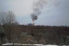 1.Факел на заводе СПГ, Пригородное, Корсаковский район, 26 апреля 2009