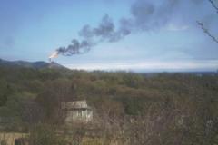 5.Факел на заводе СПГ, Пригородное, Корсаковский район, 24 мая 2009