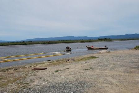 РУЗ на реке Найба