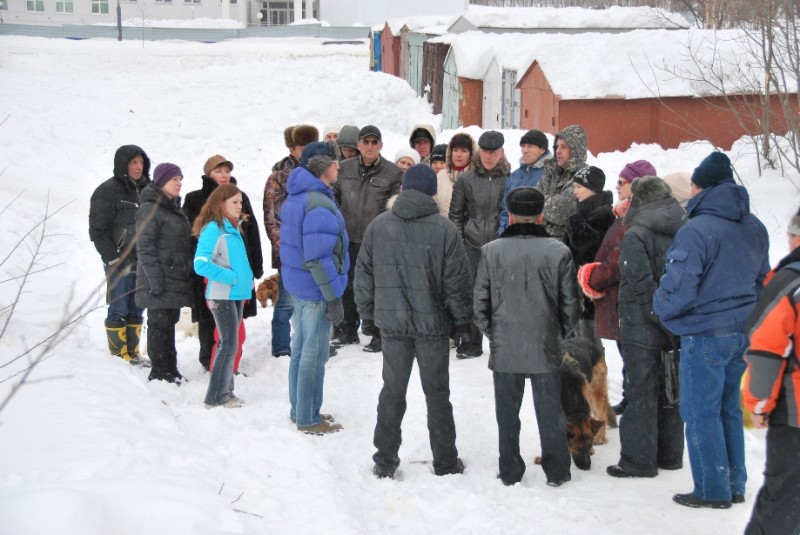 Собрание жителей 14 микрорайона Южно-Сахалинска