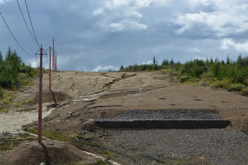 Gazprom krayne neudovletvoritelnoye vosstanovleniye rastitelnogo pokrov razvitiye lineynoy erozii
