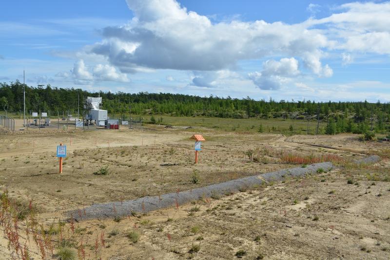 Sakhalin 2 neudovletvoritelnoye vosstanovleniye rastitelnogo pokrova  k yugu ot r  Val